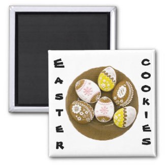 Easter Cookies Refrigerator Magnets