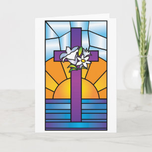 Easter Cross Holiday Card