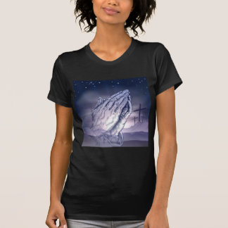 Easter Crosses and Praying Hands T-Shirt