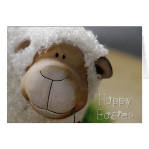 Easter gifts gift ideas zazzle uk easter cute sheep happy easter all negle Images