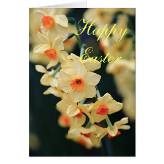 Easter Daffodil card Greeting Cards