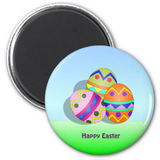 EASTER: Decorated Easter Eggs refrigerator magnet