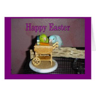 Easter Dinner Greeting Card