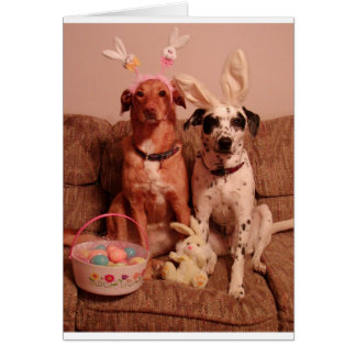 Easter Dogs Card