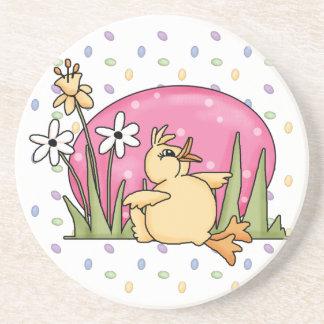 Easter Duck Sandstone Coaster Coasters
