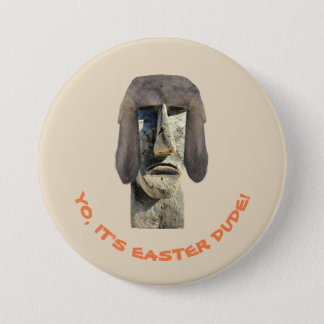 Easter Dude - Whimsical Button