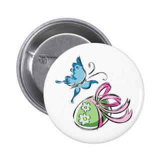 Easter Egg 6 Cm Round Badge