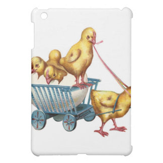easter egg and baby chicks iPad mini covers
