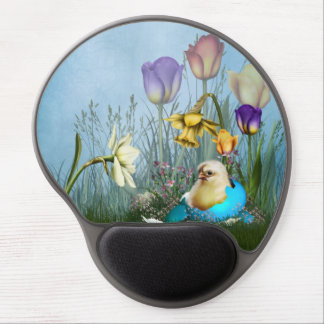 Easter Egg Chicken Gel Mouse Pad