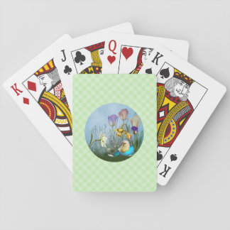 Easter Egg Chicken Playing Cards