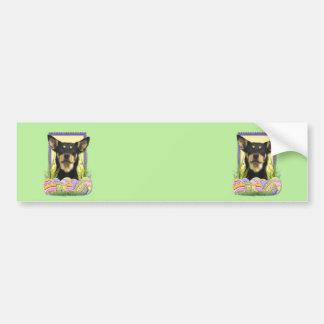 Easter Egg Cookies - Australian Kelpie Bumper Sticker