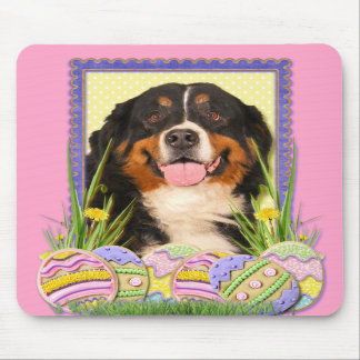 Easter Egg Cookies - Bernese Mountain Dog Mouse Pads