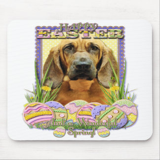 Easter Egg Cookies - Bloodhound - Penny Mouse Pad