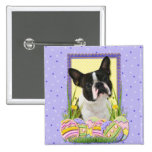 Easter Egg Cookies - Boston Terrier Buttons