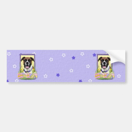 Easter Egg Cookies - Boxer Bumper Stickers