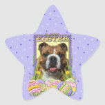 Easter Egg Cookies - Bulldog Star Stickers