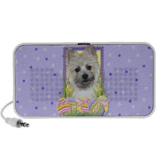 Easter Egg Cookies - Cairn Terrier Mini Speakers