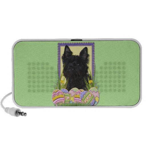 Easter Egg Cookies - Cairn Terrier iPod Speaker