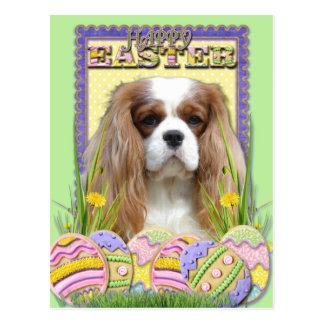 Easter Egg Cookies - Cavalier - Blenheim Postcard