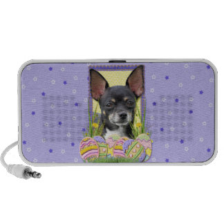Easter Egg Cookies - Chihuahua Laptop Speakers