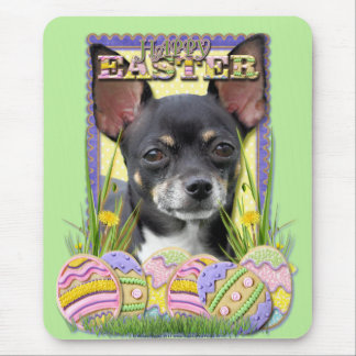 Easter Egg Cookies - Chihuahua Mouse Pad
