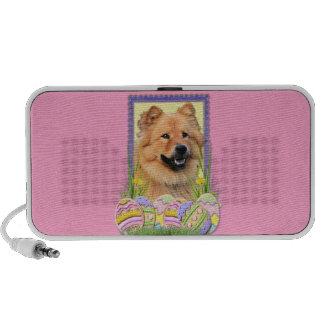 Easter Egg Cookies - Chow Chow Notebook Speakers