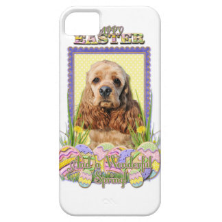 Easter Egg Cookies - Cocker Spaniel Barely There iPhone 5 Case