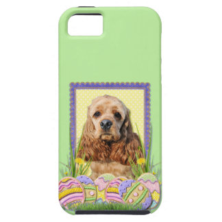 Easter Egg Cookies - Cocker Spaniel iPhone 5 Case