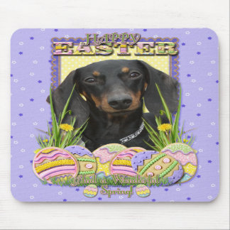Easter Egg Cookies - Dachshund Mouse Pads