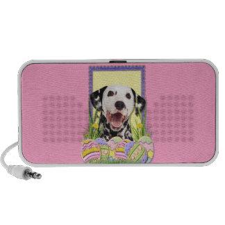 Easter Egg Cookies - Dalmatian Notebook Speaker