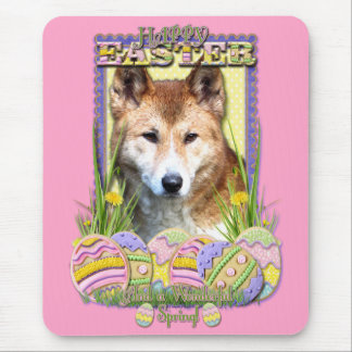 Easter Egg Cookies - Dingo Mouse Pad
