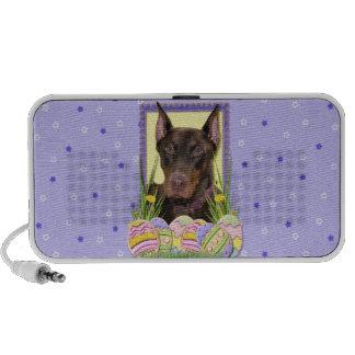 Easter Egg Cookies - Doberman Travelling Speaker