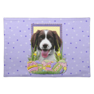 Easter Egg Cookies - English Springer Spaniel Place Mats