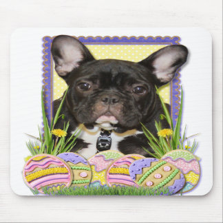 Easter Egg Cookies - French Bulldog Mousepads
