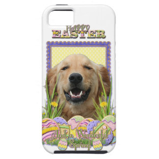 Easter Egg Cookies - Golden Retriever iPhone 5 Covers
