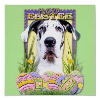 Easter Egg Cookies - Great Dane - Baron Posters