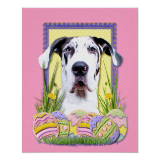 Easter Egg Cookies - Great Dane - Baron Poster