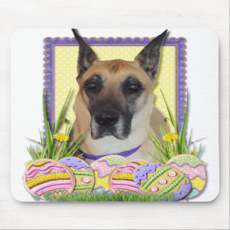 Easter Egg Cookies - Great Dane - Fawn Mousepad