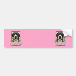 Easter Egg Cookies - Greater Swiss Mountain Dog Bumper Stickers