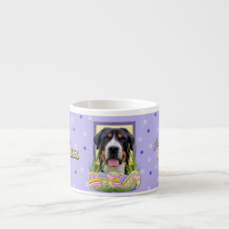 Easter Egg Cookies - Greater Swiss Mountain Dog Espresso Cup