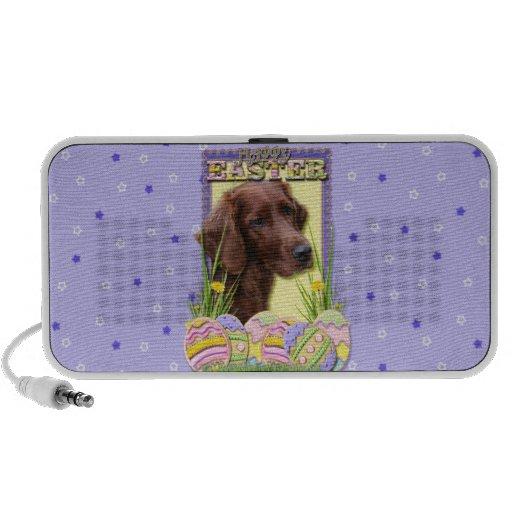 Easter Egg Cookies - Irish Setter Laptop Speaker