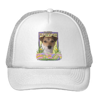 Easter Egg Cookies - Jack Russell Trucker Hat