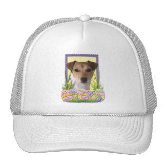 Easter Egg Cookies - Jack Russell Trucker Hat