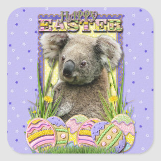 Easter Egg Cookies - Koala Square Sticker