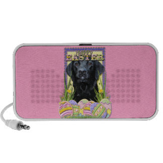 Easter Egg Cookies - Labrador - Black Laptop Speaker