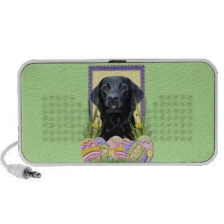 Easter Egg Cookies - Labrador - Black Mp3 Speaker