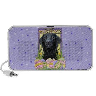 Easter Egg Cookies - Labrador - Black iPod Speakers