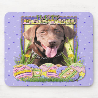 Easter Egg Cookies - Labrador - Chocolate Mousepads