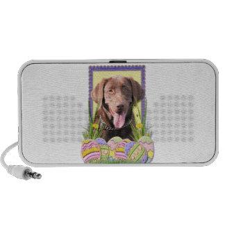 Easter Egg Cookies - Labrador - Chocolate Mini Speakers