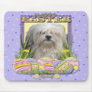 Easter Egg Cookies - Lowchen Mousepads